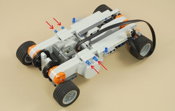Как сделать гоночную машину из лего ева 3