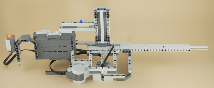 how to build a lego machine gun that works